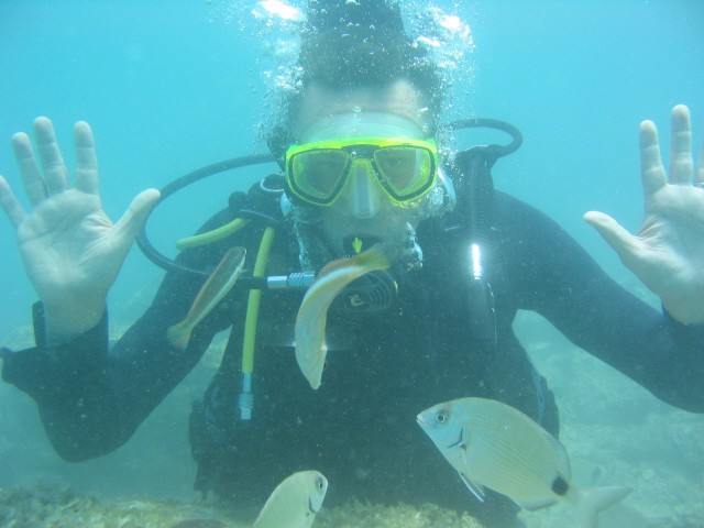 karim diving