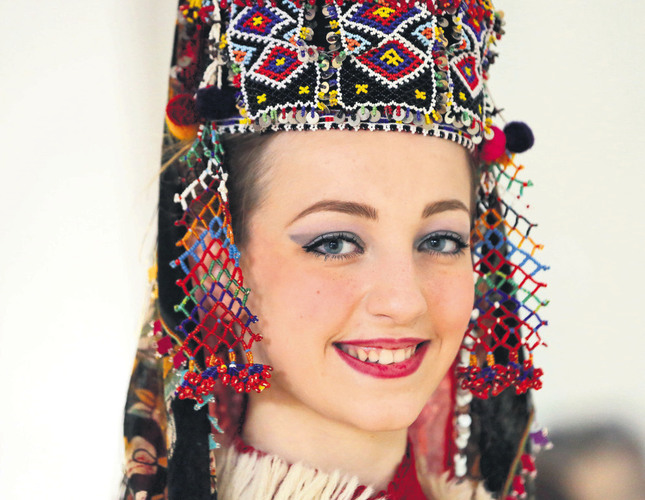 Turkish designer revives Anatolian bridal headwear - The Ege Eye